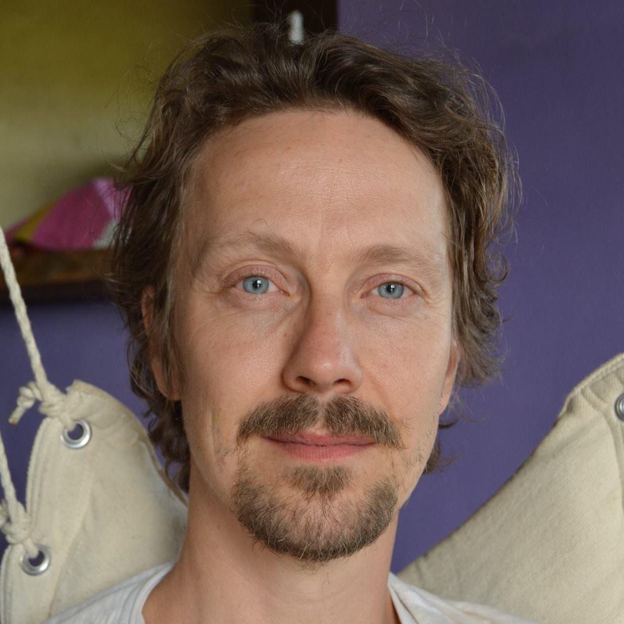 Workshop leader Magnus Vikström