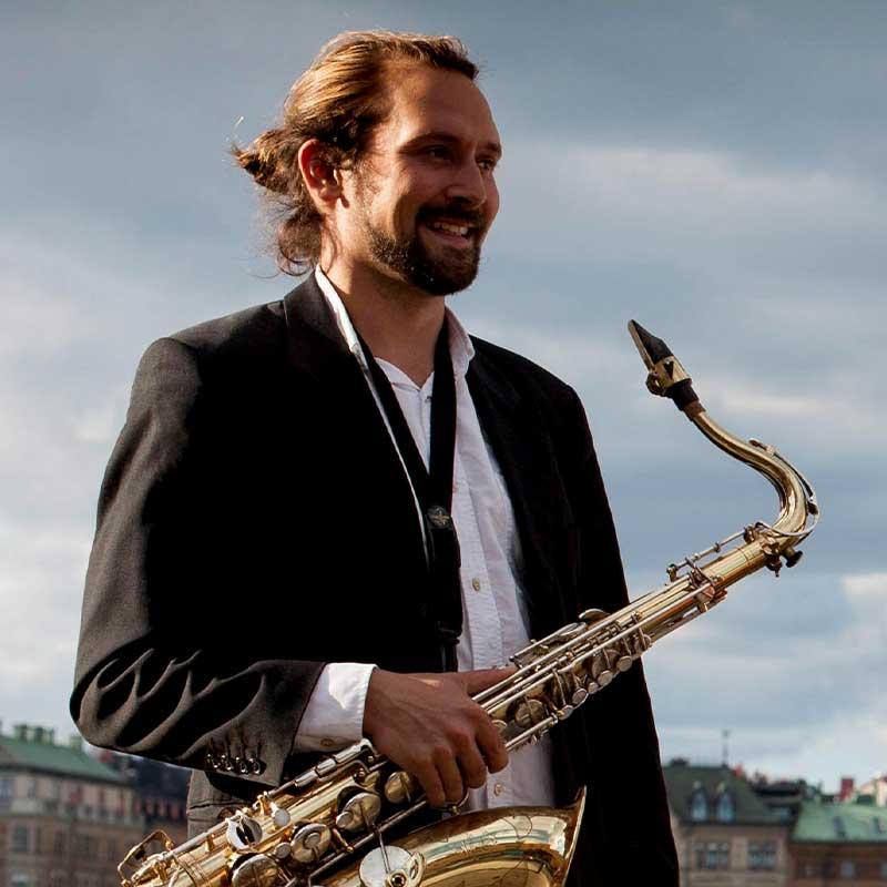 Workshop leader Johan Axelsson