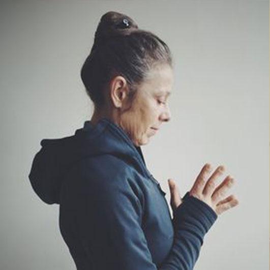 Workshop leader Isabella dos Santos